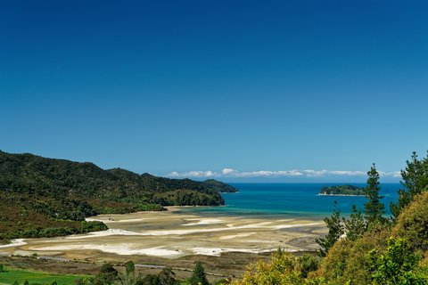 Marahau, gateway to the Abel Tasman, South Island, New Zealand
